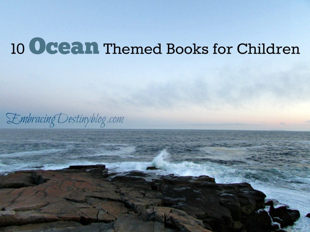 10 Ocean Books for Children @destinyblogger