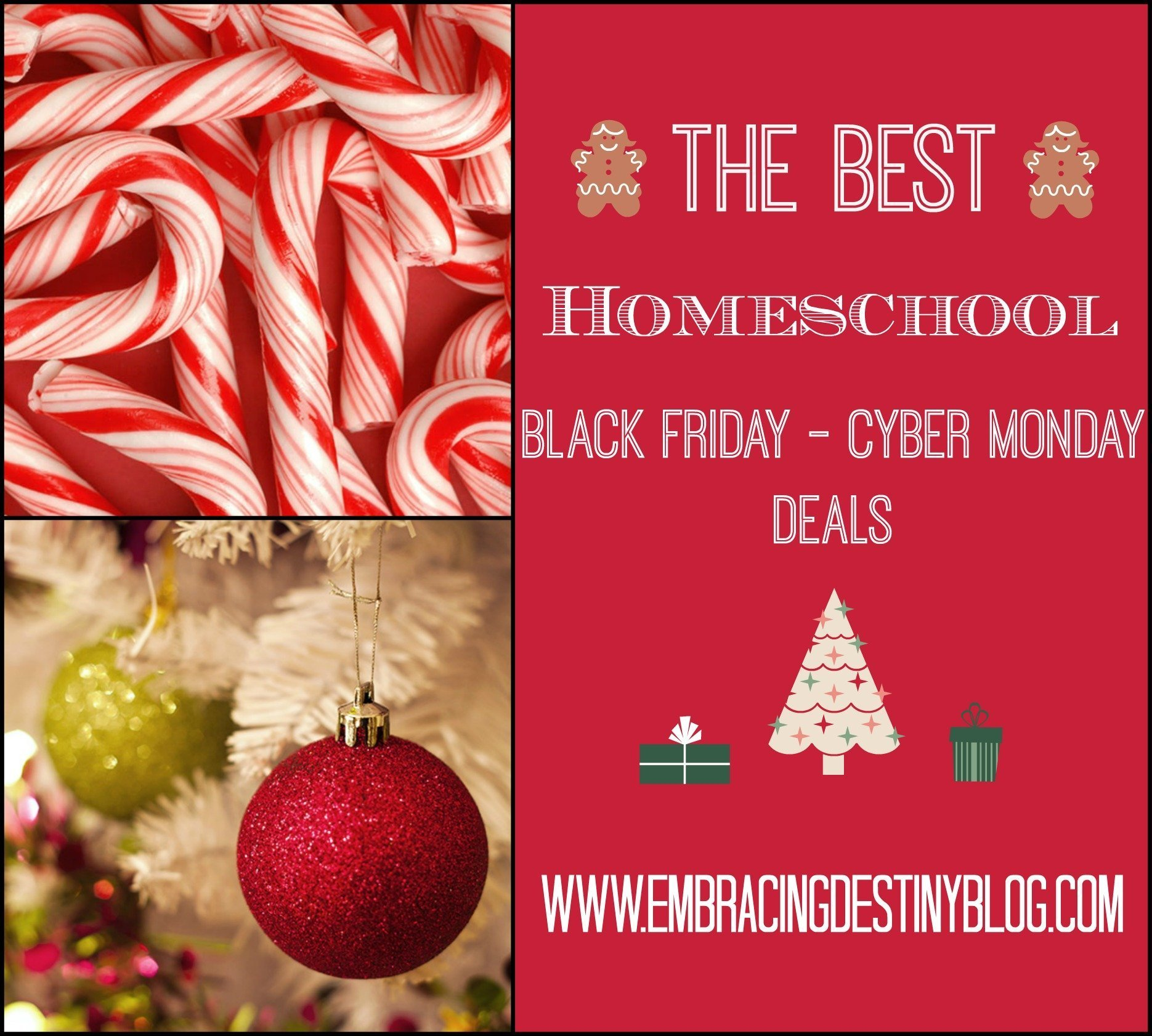 The Best Homeschool Black Friday through Cyber Monday Deals