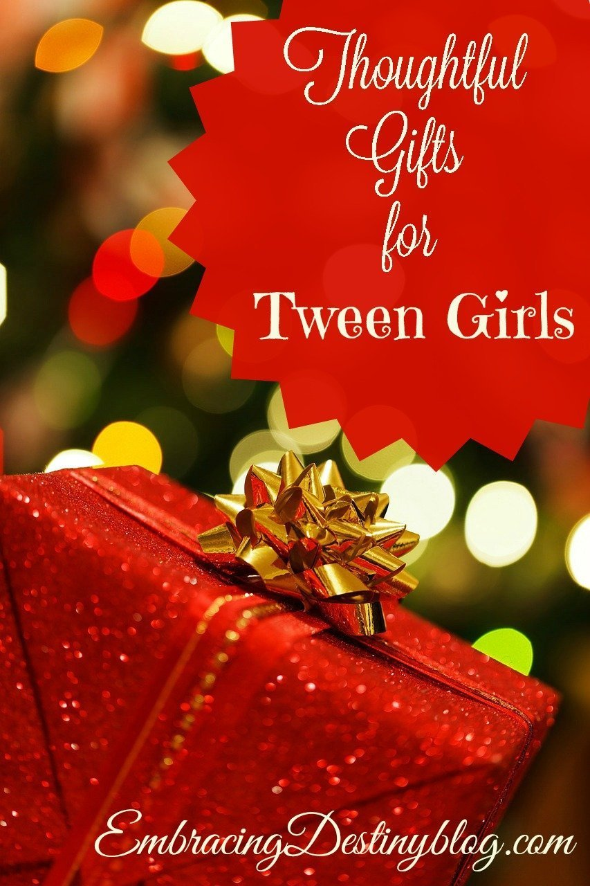 Thoughtful gifts for tween girls embracing destiny for Thoughtful homemade gifts for christmas