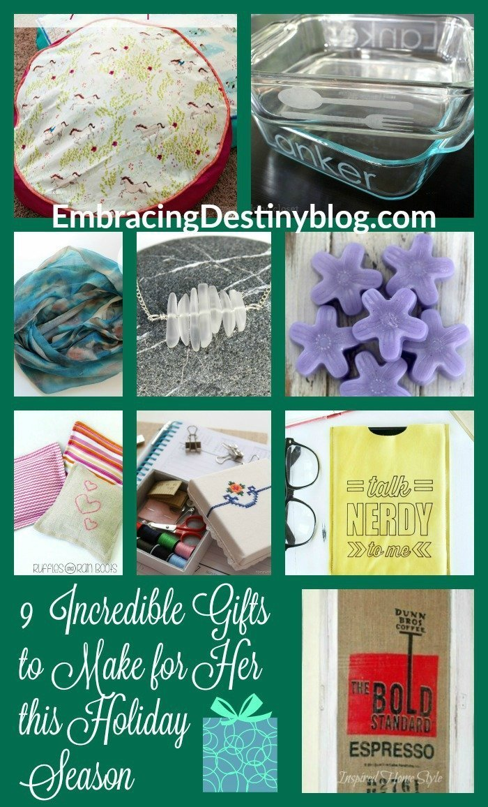 9 Unique DIY Gifts for Her