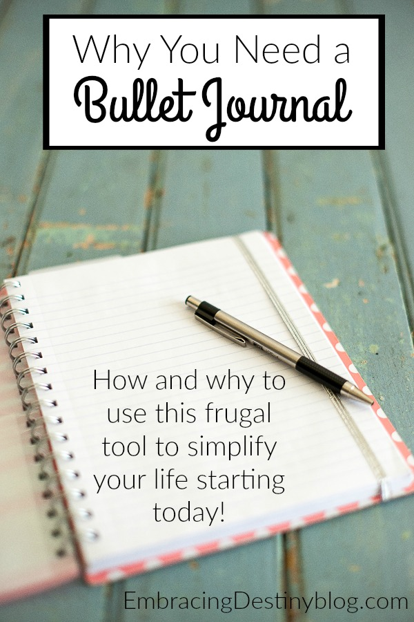 How to Make a Bullet Journal (and Why You Need One)
