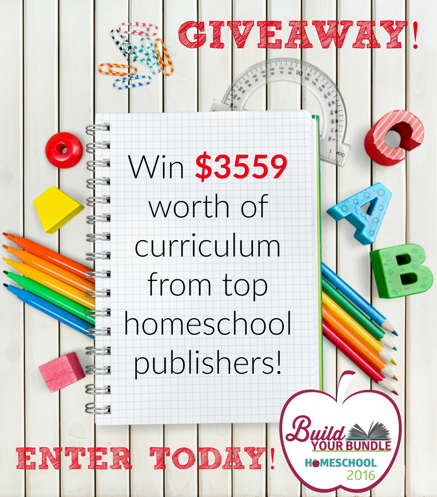 A Giveaway from my Favorite Homeschool Publishers