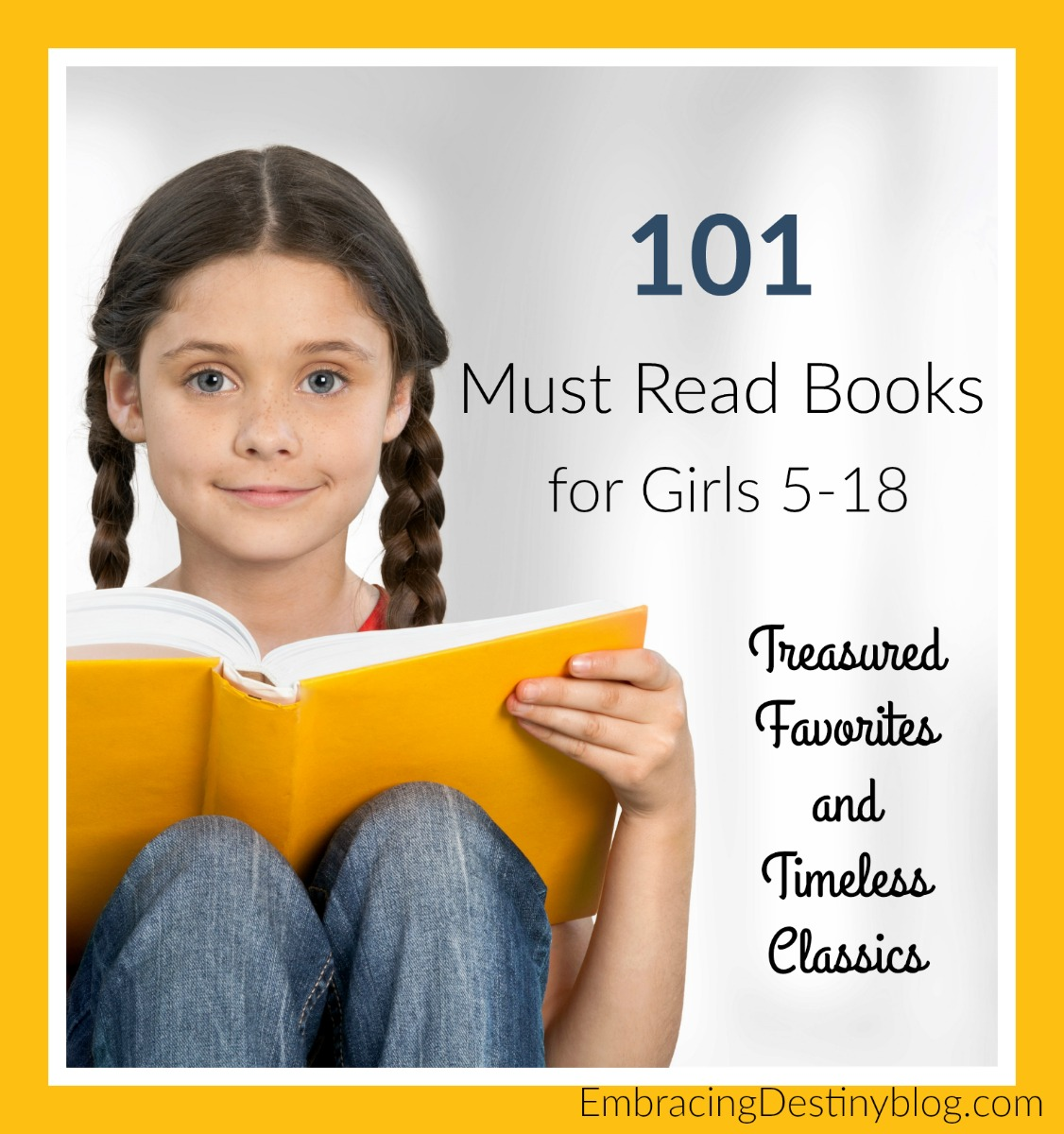 101 Books Every Girl Should Read Before Turning 18