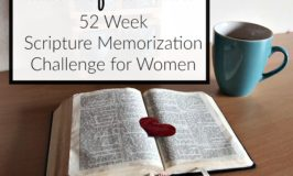 Join the Matters of the Heart 52 week Bible verse memorization challenge! Read about it at embracingdestinyblog.com