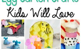 Egg cartons are a great versatile craft supply to have on hand! Including everything from flowers, a bee hive, and whales to a fire truck, train, and even an ice cream sundae. embracingdestinyblog.com