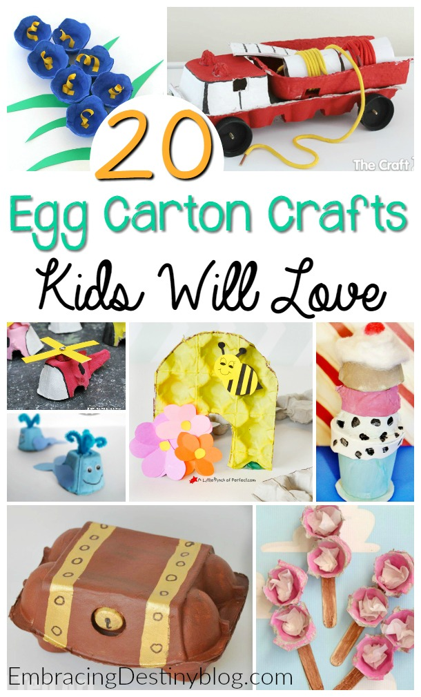 20 Egg Carton Crafts Kids Will Love