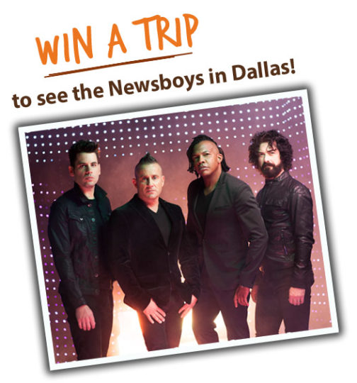See the Newsboys in Concert with Adventures in Odyssey