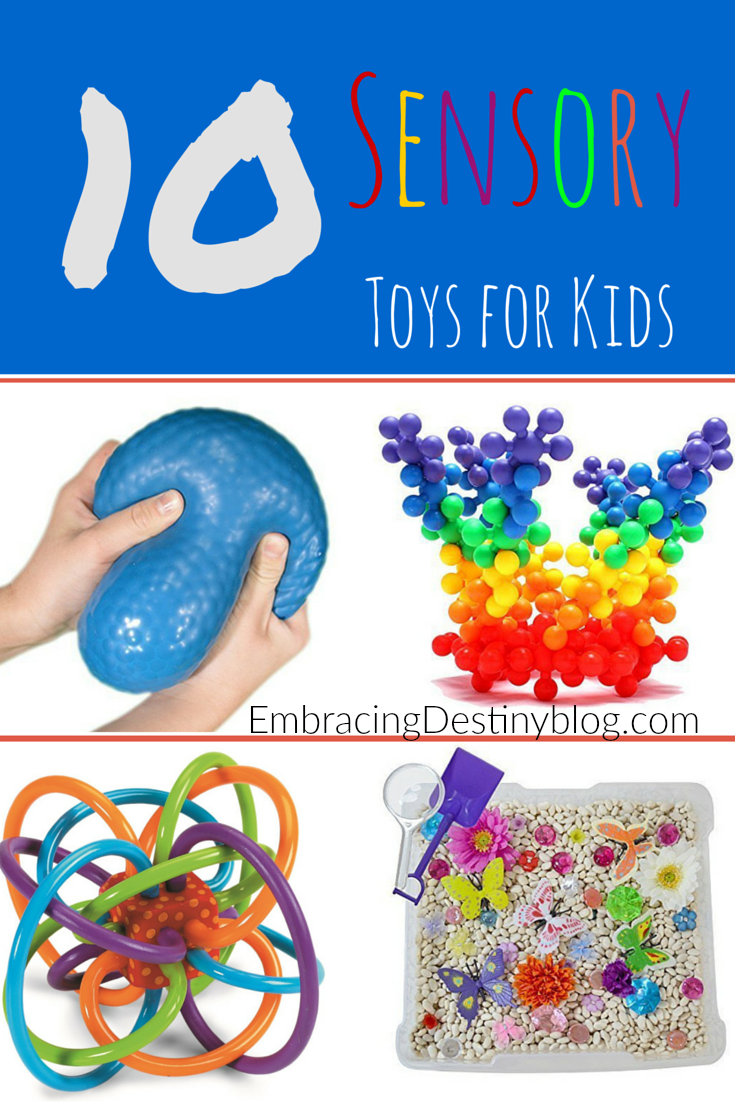 10 Must Have Sensory Toys for Kids