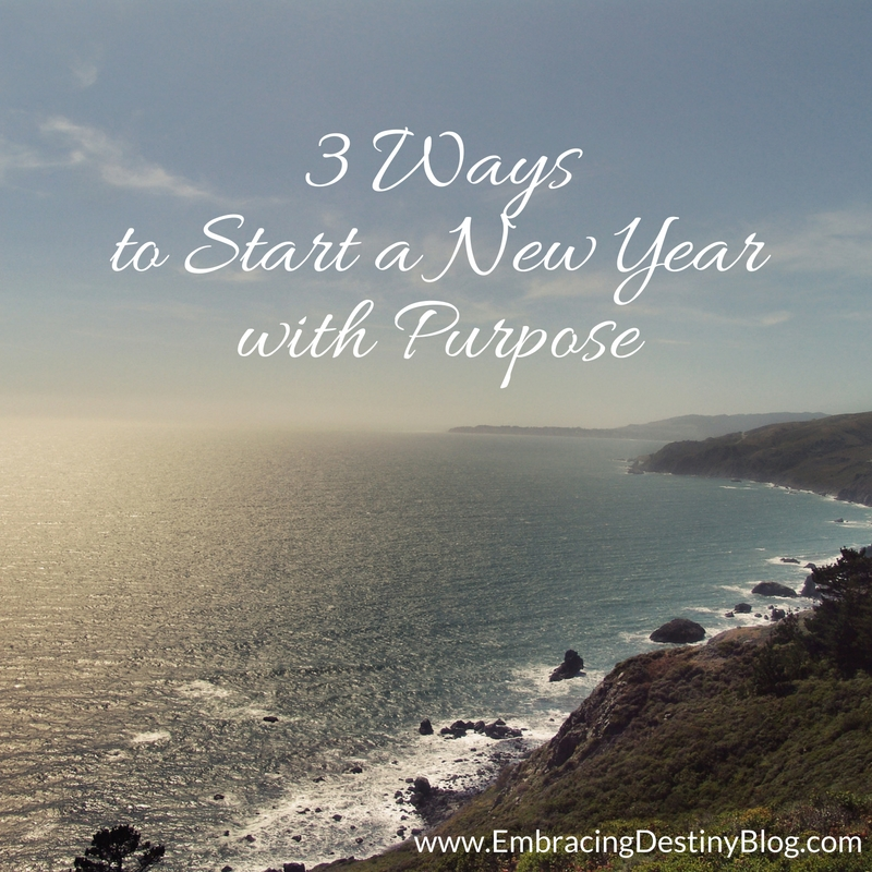 How to Start a New Year with Purpose