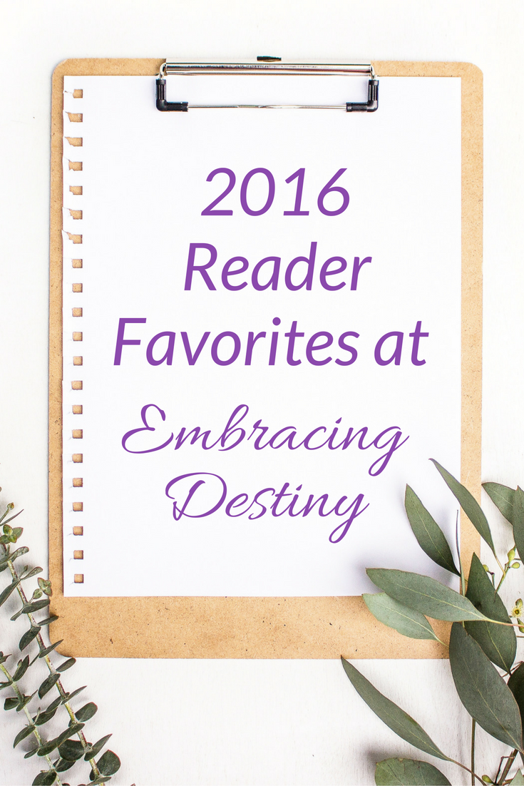 Reader Favorites in 2016