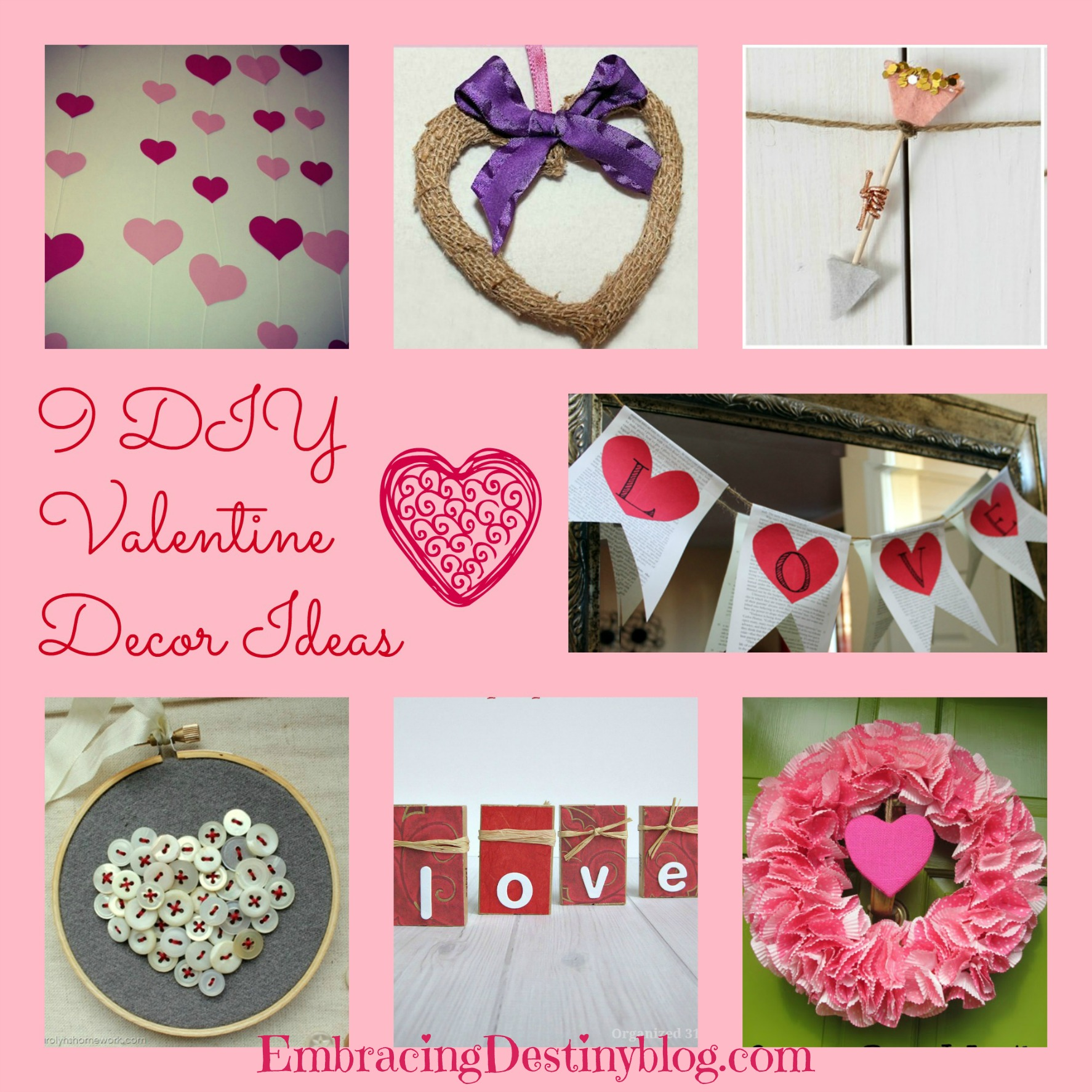 9 diy valentine decor ideas embracing destiny